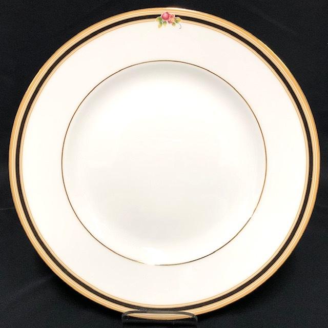★新品未使用★ WEDGWOOD ウェッジウッド クリオ CLIO BONE CHINA 英国製 ランチプレート 皿 中皿 2枚  RaHD08_画像2