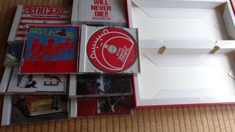子供ばんど大百科 1980-1988 CD11枚 Live映像収録DVD LP「ROCK & ROLL WILL NEVER DIE!!」_画像4