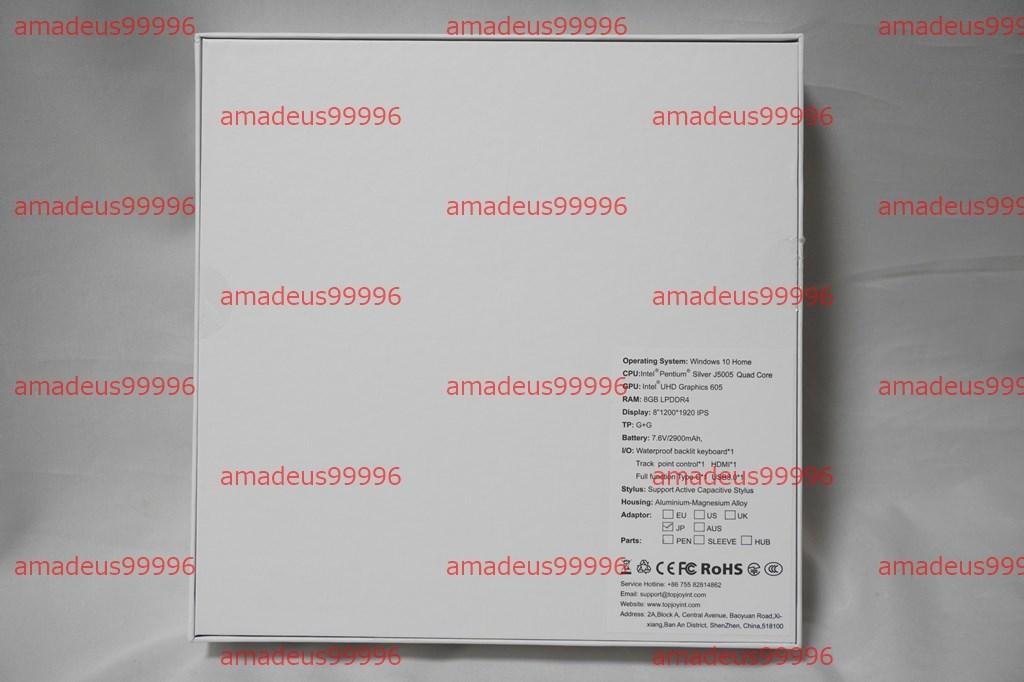 【新品】Topjoy Falcon Pentium J5005/8GB/M.2 128GB/Win10 64bit/8インチ/タブレットPC/デジタイザー内蔵/Office UMPC GPD OneMix3_画像2