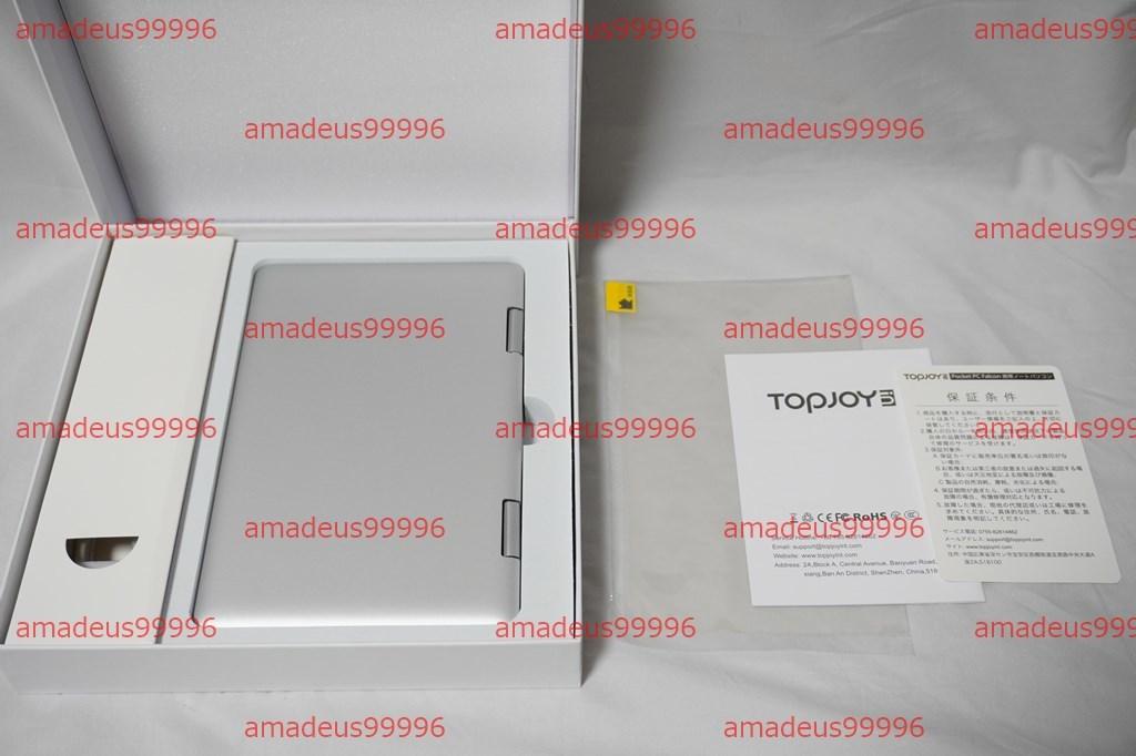 【新品】Topjoy Falcon Pentium J5005/8GB/M.2 128GB/Win10 64bit/8インチ/タブレットPC/デジタイザー内蔵/Office UMPC GPD OneMix3_画像4