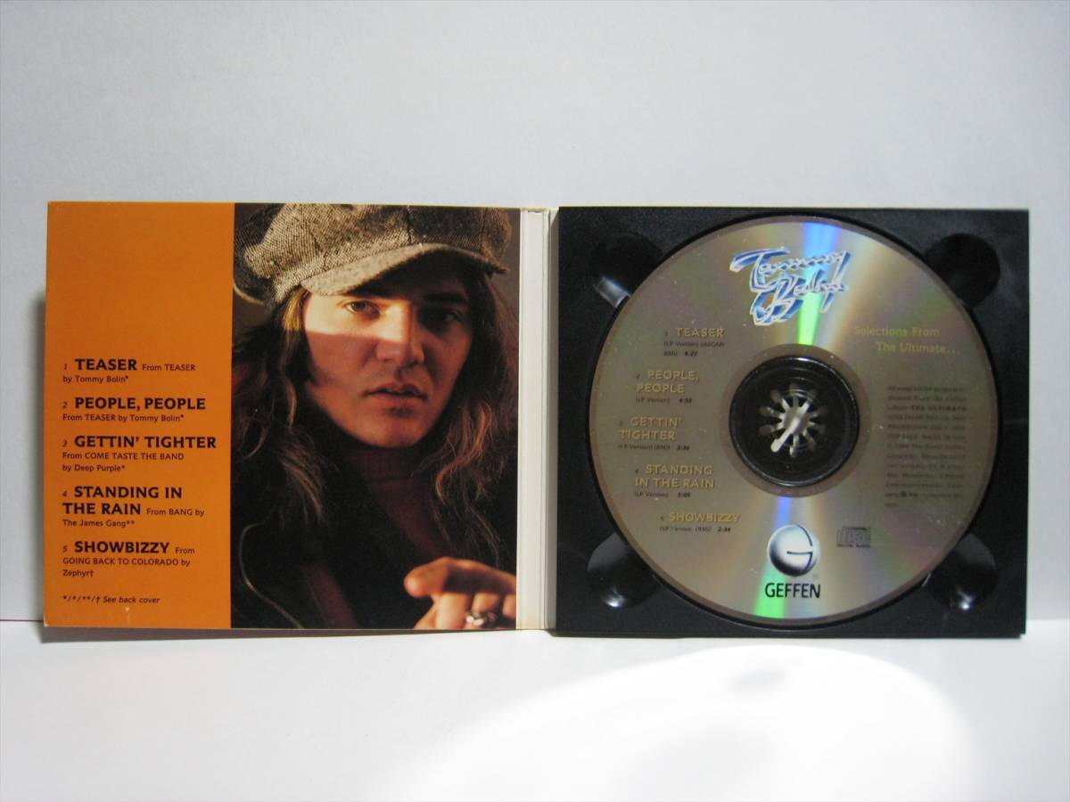 【CD】●プロモ● TOMMY BOLIN / SELECTIONS FROM THE ULTIMATE ... US盤 トミー・ボーリン DEEP PURPLE JAMES GANG ZEPHYR_画像3