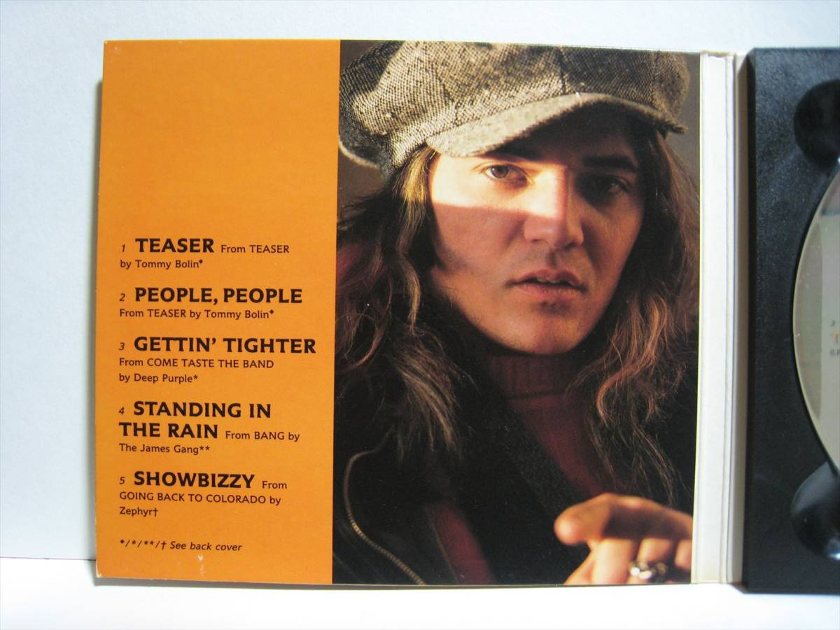 【CD】●プロモ● TOMMY BOLIN / SELECTIONS FROM THE ULTIMATE ... US盤 トミー・ボーリン DEEP PURPLE JAMES GANG ZEPHYR_画像4