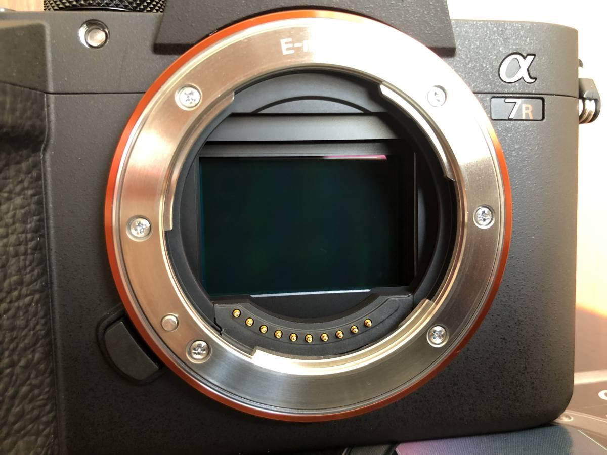 超美品 保証期間2023年3月23日まで(残3年7ヶ月) SONY ソニー α7RⅢ ILCE-7RM3 シャッター回数457回 付属品全て有 背面液晶フィルム付_画像7