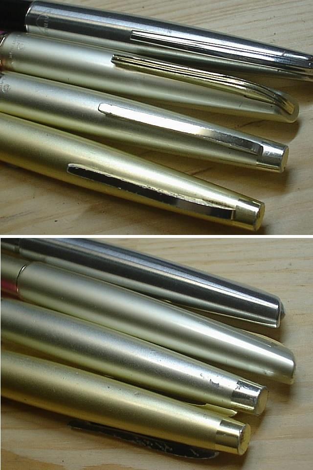 [完全ジャンク品]プラチナ PLATINUM 万年筆(ペン先 14K・18K) 11本まとめて_画像7