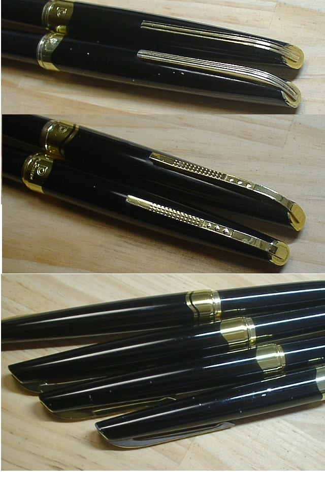 [完全ジャンク品]プラチナ PLATINUM 万年筆(ペン先 14K・18K) 11本まとめて_画像4