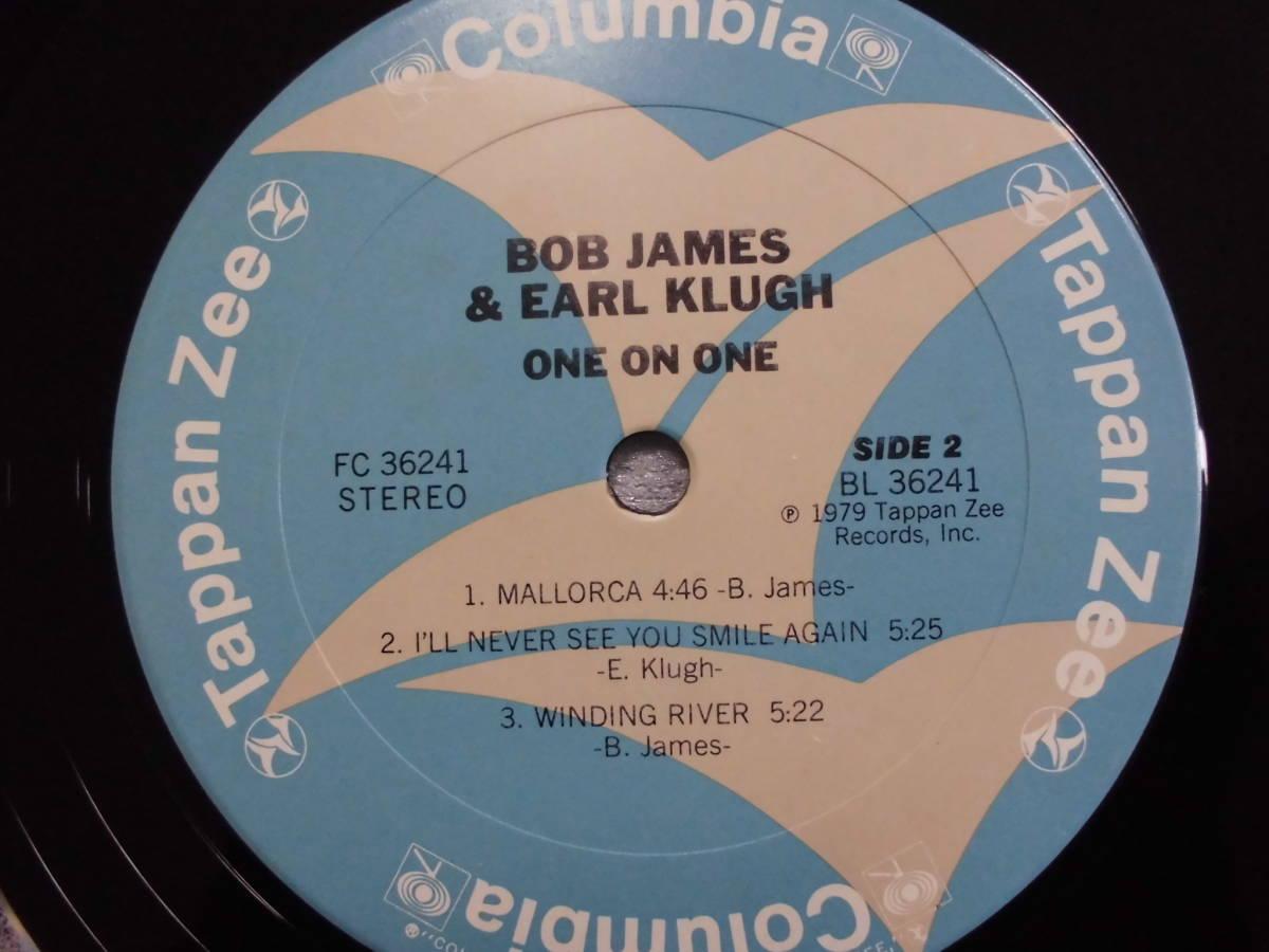 良盤屋 J-0777◆LP◆FC-36241 Jazz ボブ・ジェームス & アール・クルー BOB JAMES & EARL KLUGH /ワン・オン・ワン ONE ON ONE 送料380_画像8
