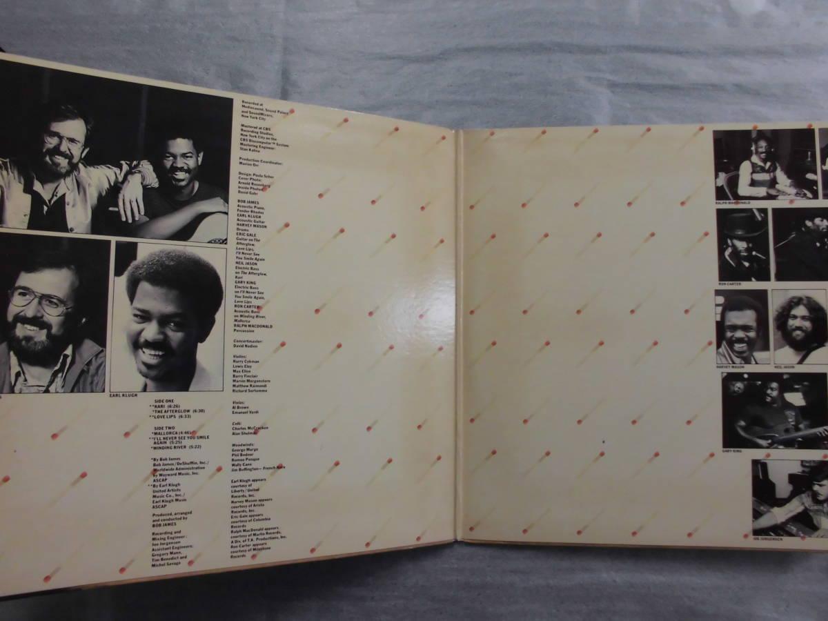 良盤屋 J-0777◆LP◆FC-36241 Jazz ボブ・ジェームス & アール・クルー BOB JAMES & EARL KLUGH /ワン・オン・ワン ONE ON ONE 送料380_画像3