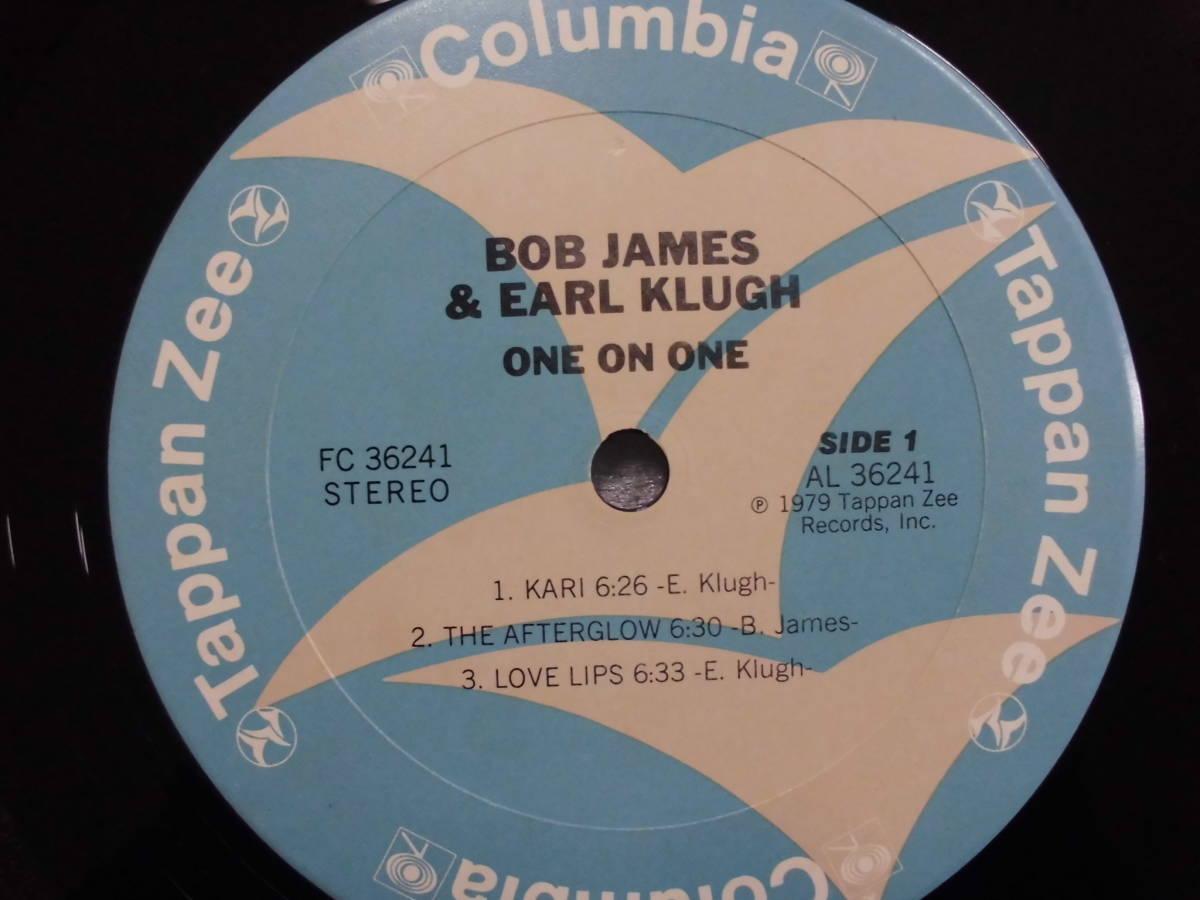 良盤屋 J-0777◆LP◆FC-36241 Jazz ボブ・ジェームス & アール・クルー BOB JAMES & EARL KLUGH /ワン・オン・ワン ONE ON ONE 送料380_画像7