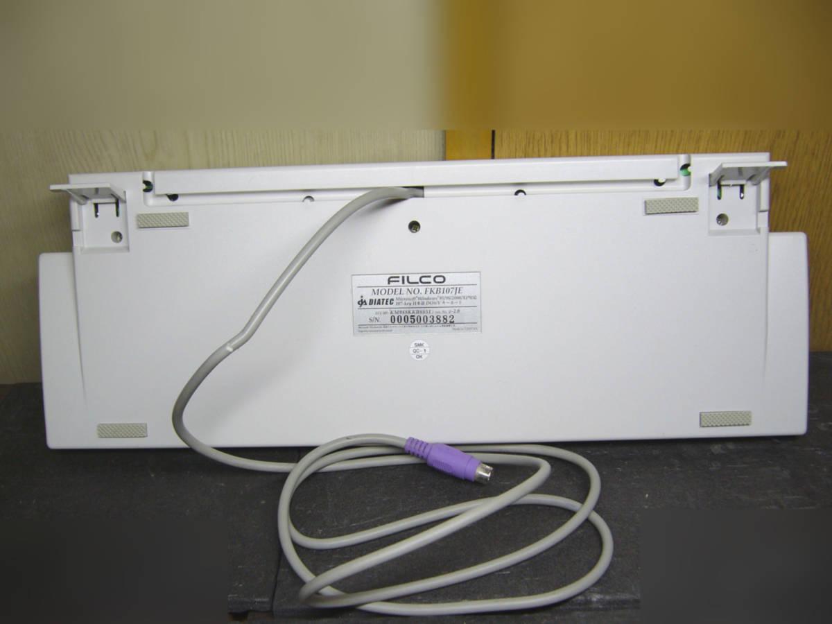 ●FILCO FKB-107JE メカニカルキーボード PS/2 USB変換ケーブル付き ●_画像2