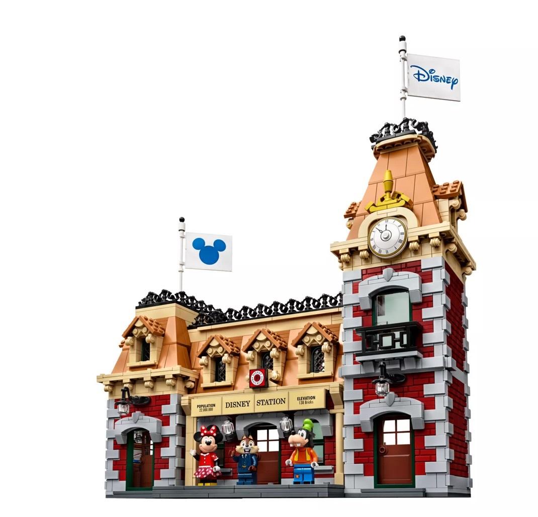 【新品未開封】日本未発売 LEGO 71044 レゴ ディズニー スペシャル ディズニートレインと駅_画像6