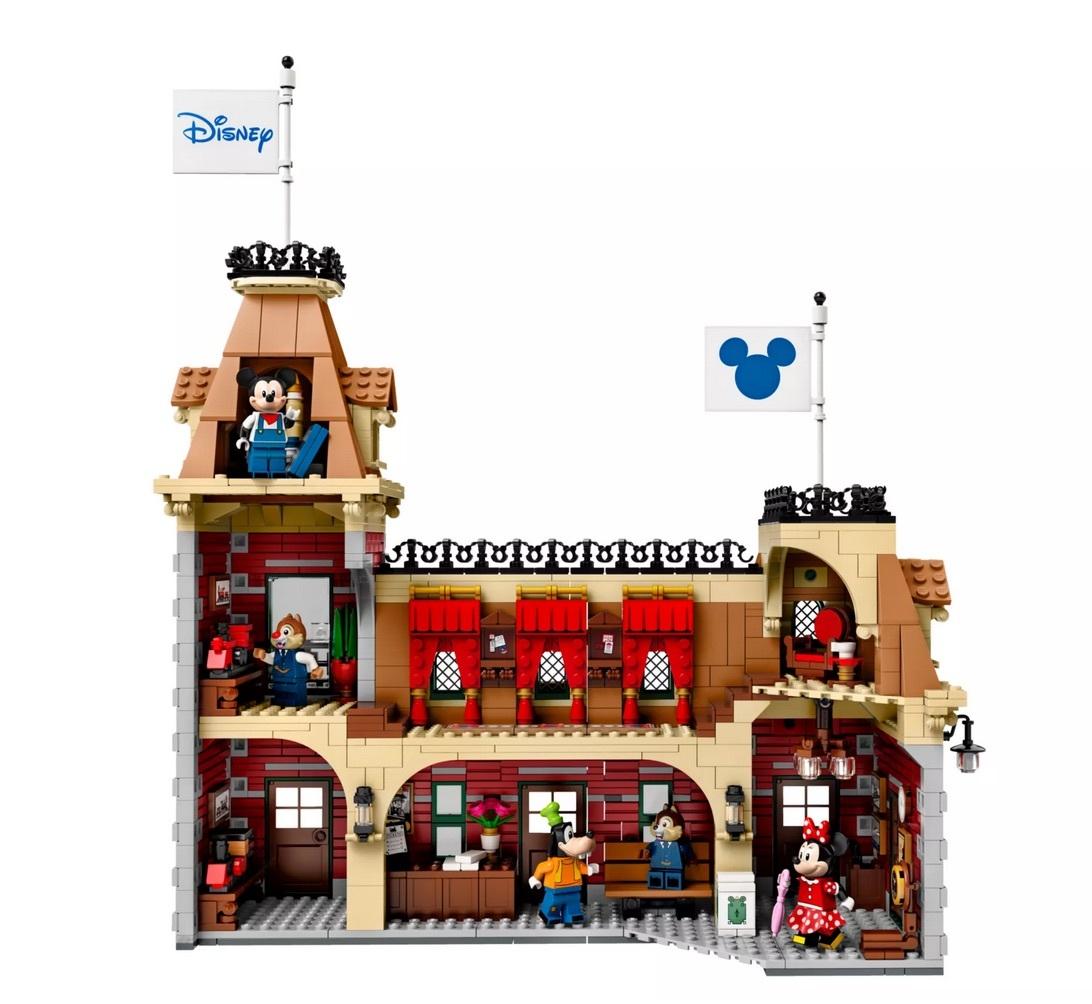 【新品未開封】日本未発売 LEGO 71044 レゴ ディズニー スペシャル ディズニートレインと駅_画像7