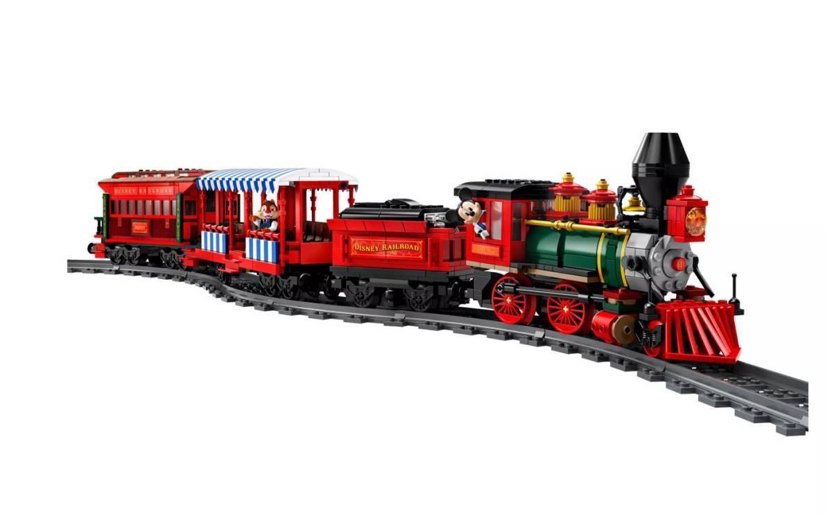【新品未開封】日本未発売 LEGO 71044 レゴ ディズニー スペシャル ディズニートレインと駅_画像8