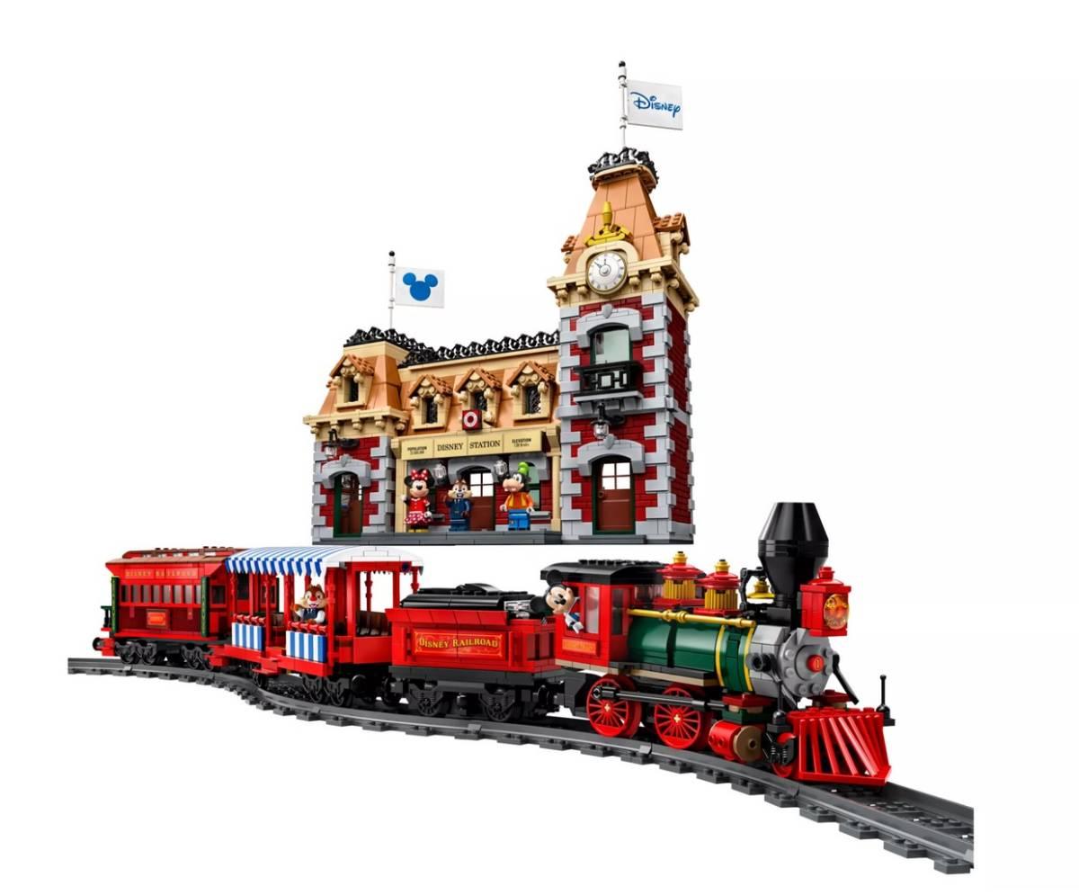 【新品未開封】日本未発売 LEGO 71044 レゴ ディズニー スペシャル ディズニートレインと駅_画像5