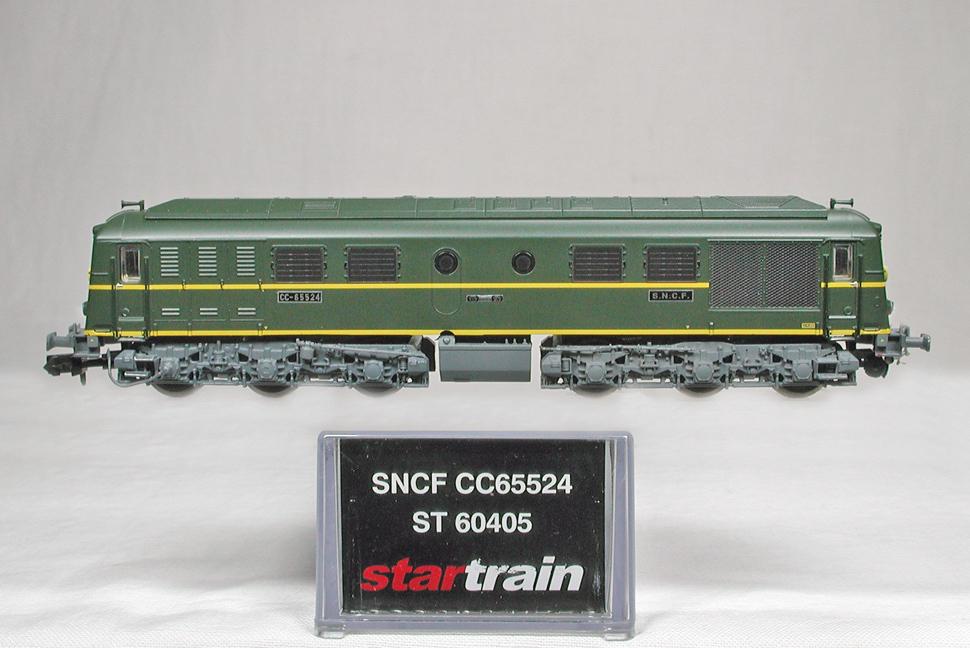 STARTRAIN #ST60405 SNCF(フランス国鉄) CC65500 電気式ディーゼル機関車_画像1