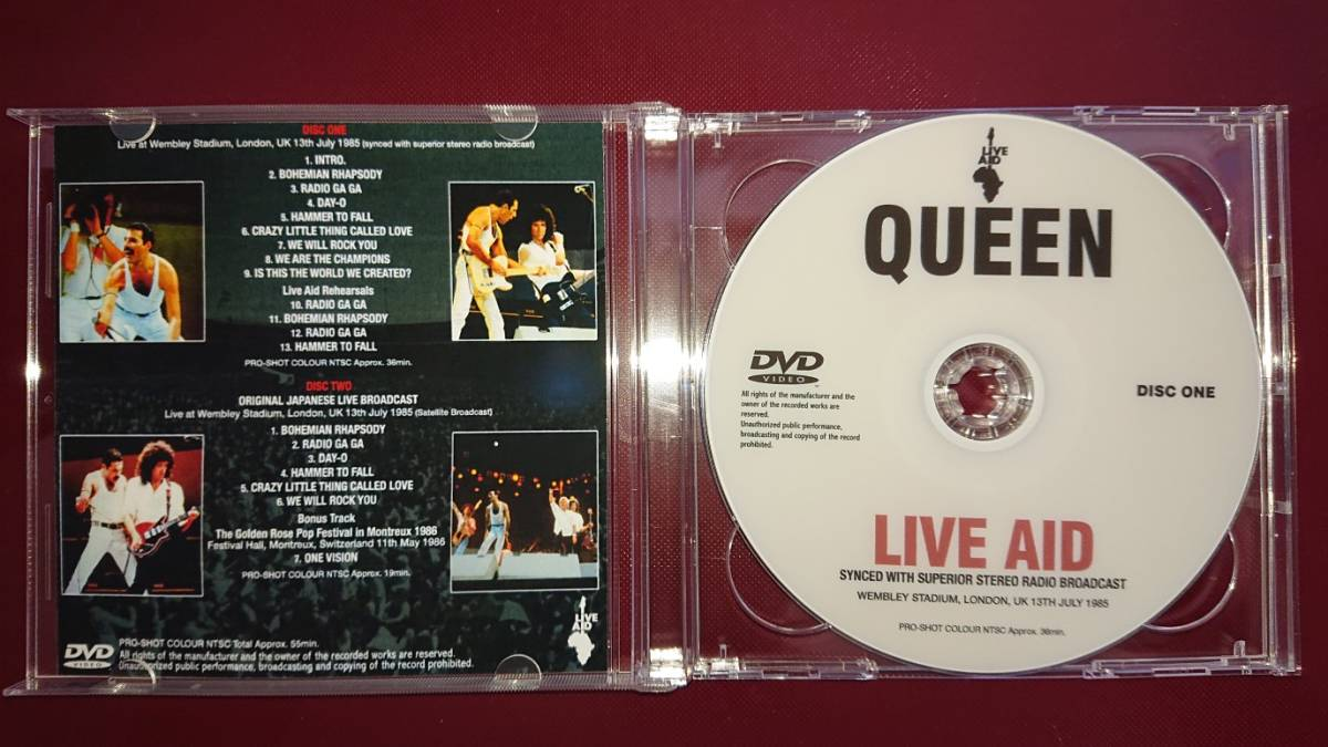 QUEEN - LIVE AID(2DVDR)_画像2