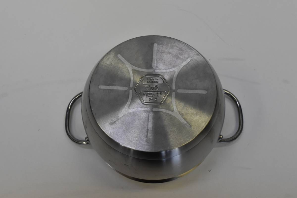 ☆ Fissler フィスラー 鍋 19.5cm【ドイツ製 】_画像10