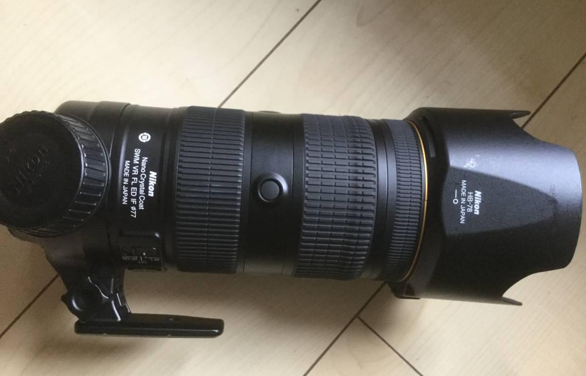 Nikon AF-S NIKKOR 70-200mm F2.8G FL VR ED _画像2