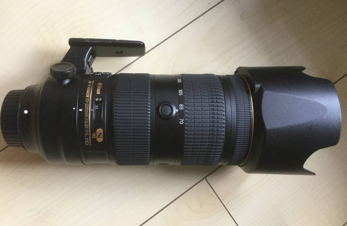 Nikon AF-S NIKKOR 70-200mm F2.8G FL VR ED