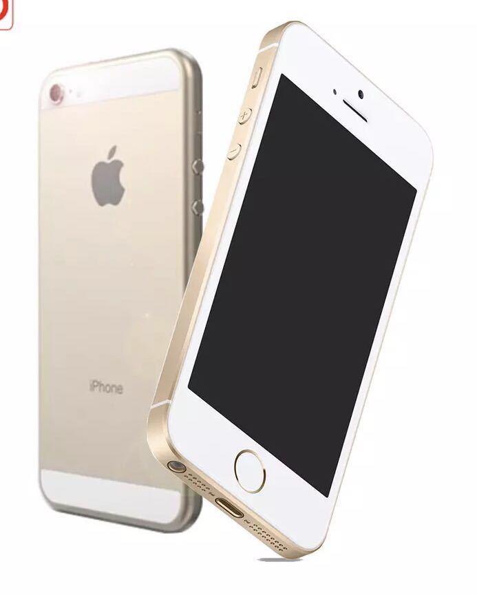 送料無料 新品再生品 iPhone SE A1723 128GB ゴールド SIMフリー 海外版 シャッター音無_画像1