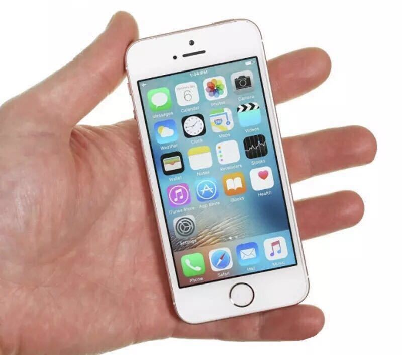送料無料 新品再生品 iPhone SE A1723 128GB ゴールド SIMフリー 海外版 シャッター音無_画像5