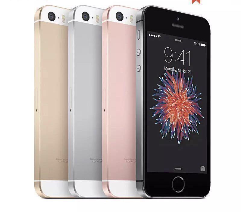 送料無料 新品再生品 iPhone SE A1723 128GB ゴールド SIMフリー 海外版 シャッター音無_画像3