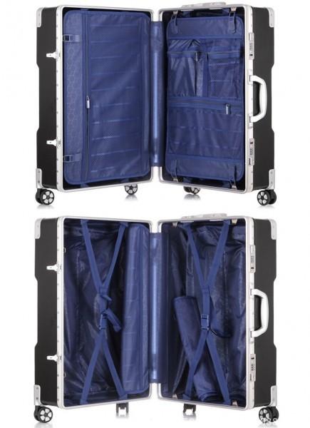 アルミスーツケース アルミフレームキャリーケース 小型軽量キャリーケース 頑丈 フレーム TSAロック搭載 海外旅行 24インチ3色あり_画像10