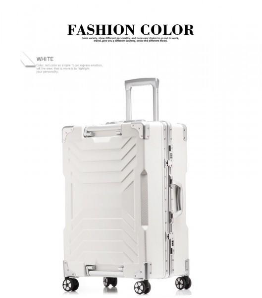 アルミスーツケース アルミフレームキャリーケース 小型軽量キャリーケース 頑丈 フレーム TSAロック搭載 海外旅行 24インチ3色あり_画像6