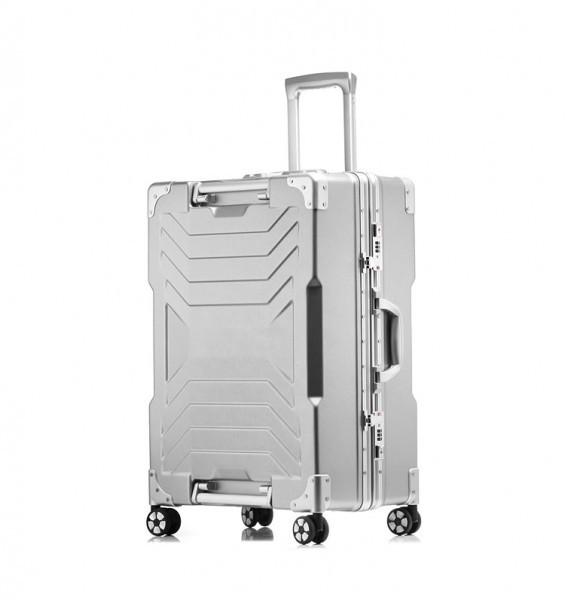 アルミスーツケース アルミフレームキャリーケース 小型軽量キャリーケース 頑丈 フレーム TSAロック搭載 海外旅行 24インチ3色あり