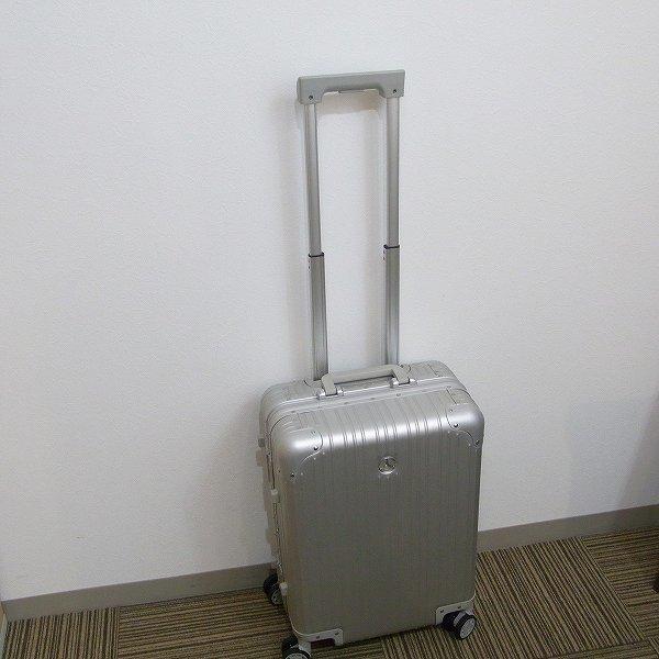 1円 新品 未使用 メルセデスベンツ スーツケース アルミ 32L 旅行 二泊三日_画像6