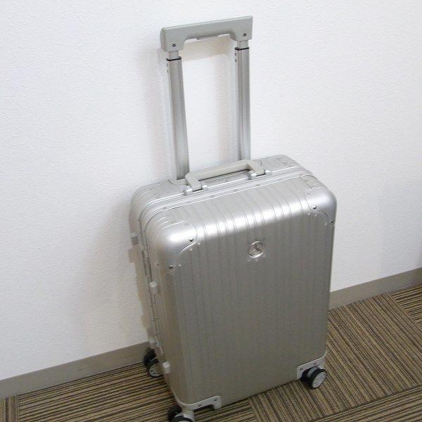 1円 新品 未使用 メルセデスベンツ スーツケース アルミ 32L 旅行 二泊三日_画像5