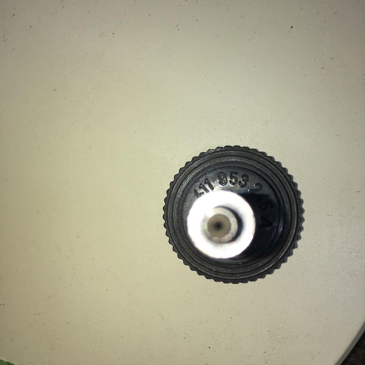*NO.1192 空冷 VW フォルクスワーゲン ポルシェ914 ハザード ライト スイッチ ノブ 411953245A_画像3