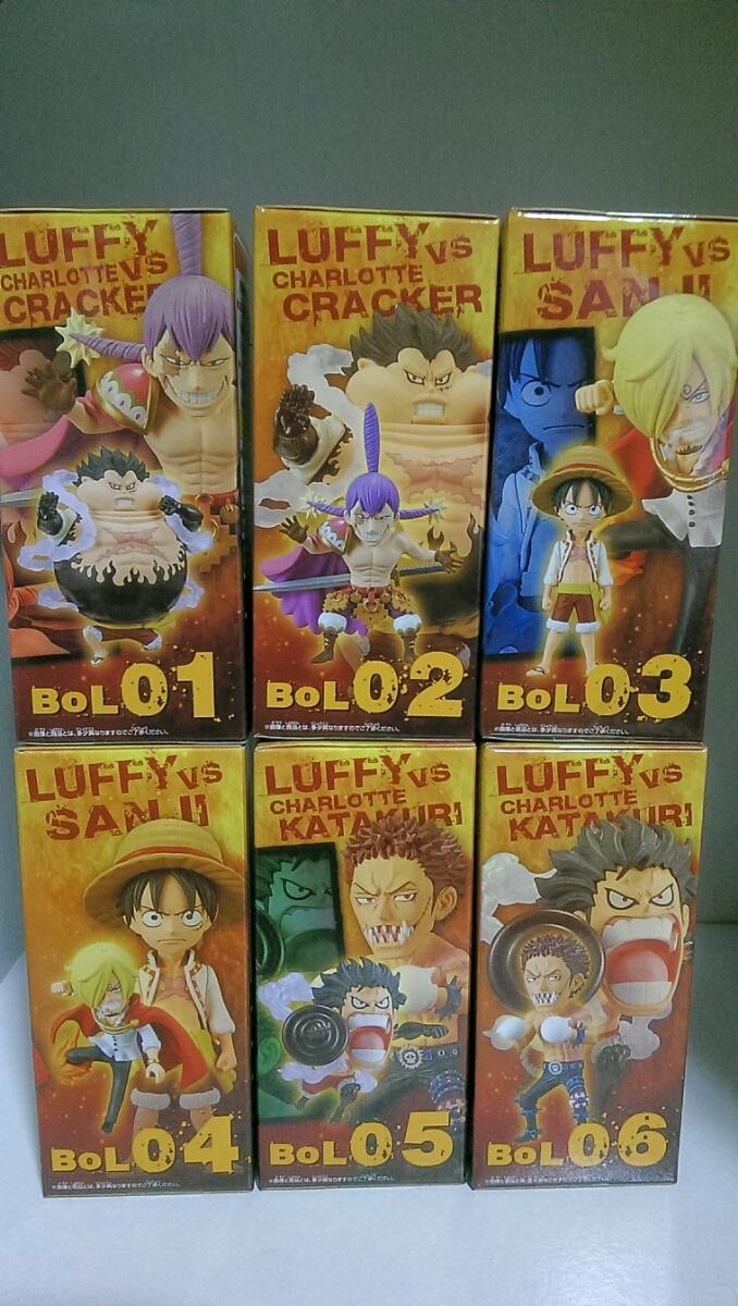 ☆1円~☆ワンピースワールドコレクタブルフィギュア-Battle of luffy Whole Cake Island- 全6種_画像3