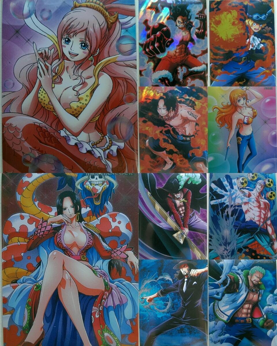 ☆1円~☆ワンピースウェハース20th Anniversaryカード10枚セットver.2