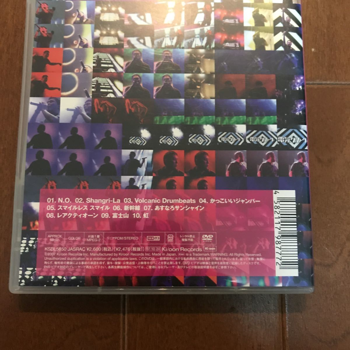 電気グルーヴ DVD 「DENKI GROOVE Live at FUJI ROCK FESTIVAL '06」 「ニセンヨンサマー」「comic牙DELUXE」石野卓球 ピエール瀧 セット_画像3
