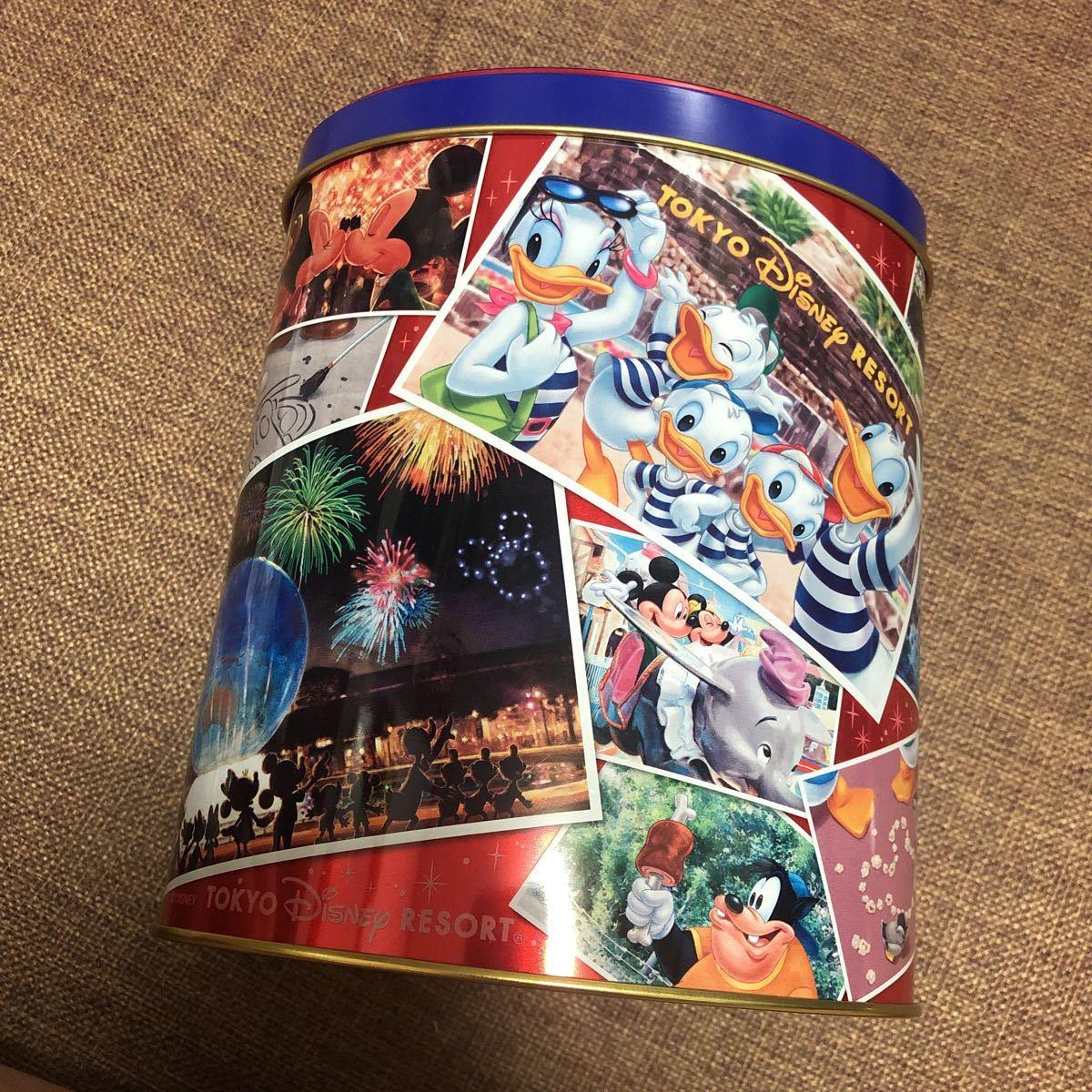 東京ディズニーリゾート チョコレートクランチ 空き缶 空きカン ケース TDL TDS TDR ディズニーランド ディズニーシー ミッキー ミニー_画像3