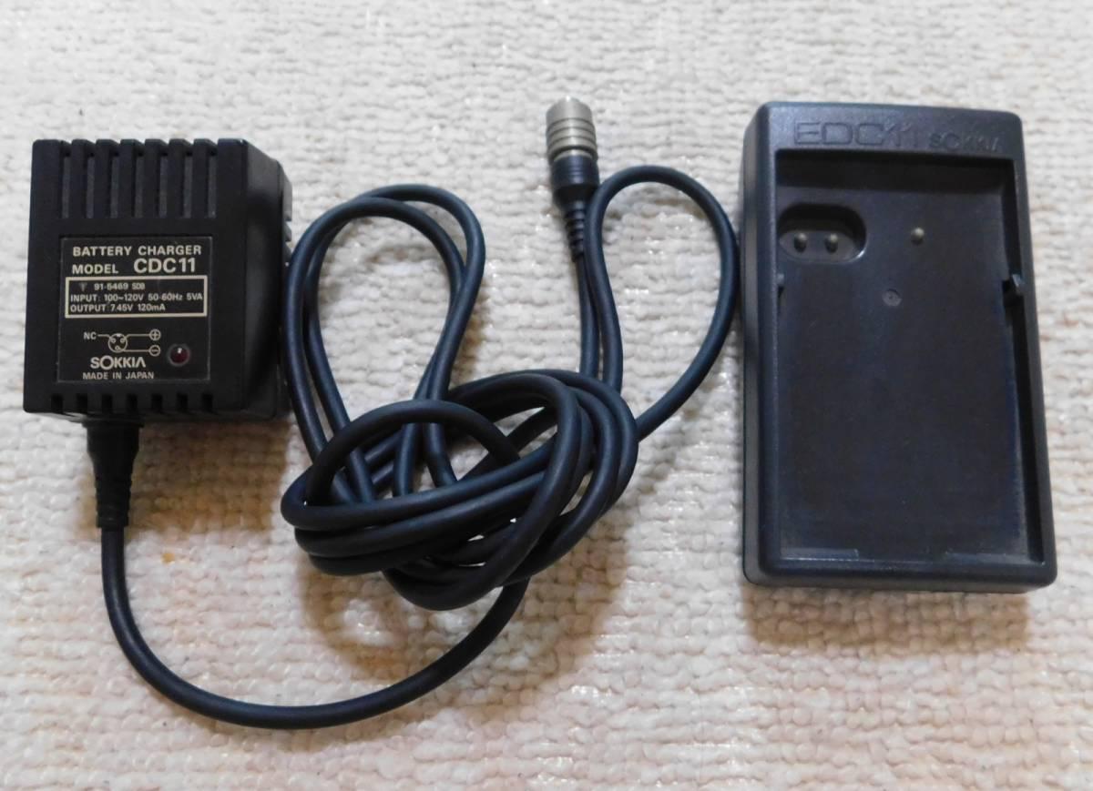 SOKKIA CDC11 EDC11 トータルステーション充電器