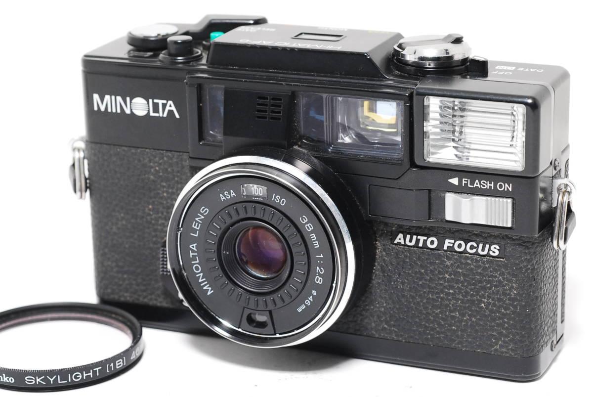 MINOLTA HI-MATIC AF-D ミノルタ