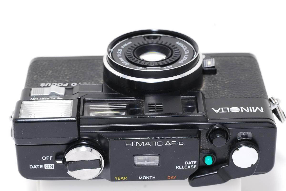MINOLTA HI-MATIC AF-D ミノルタ_画像5
