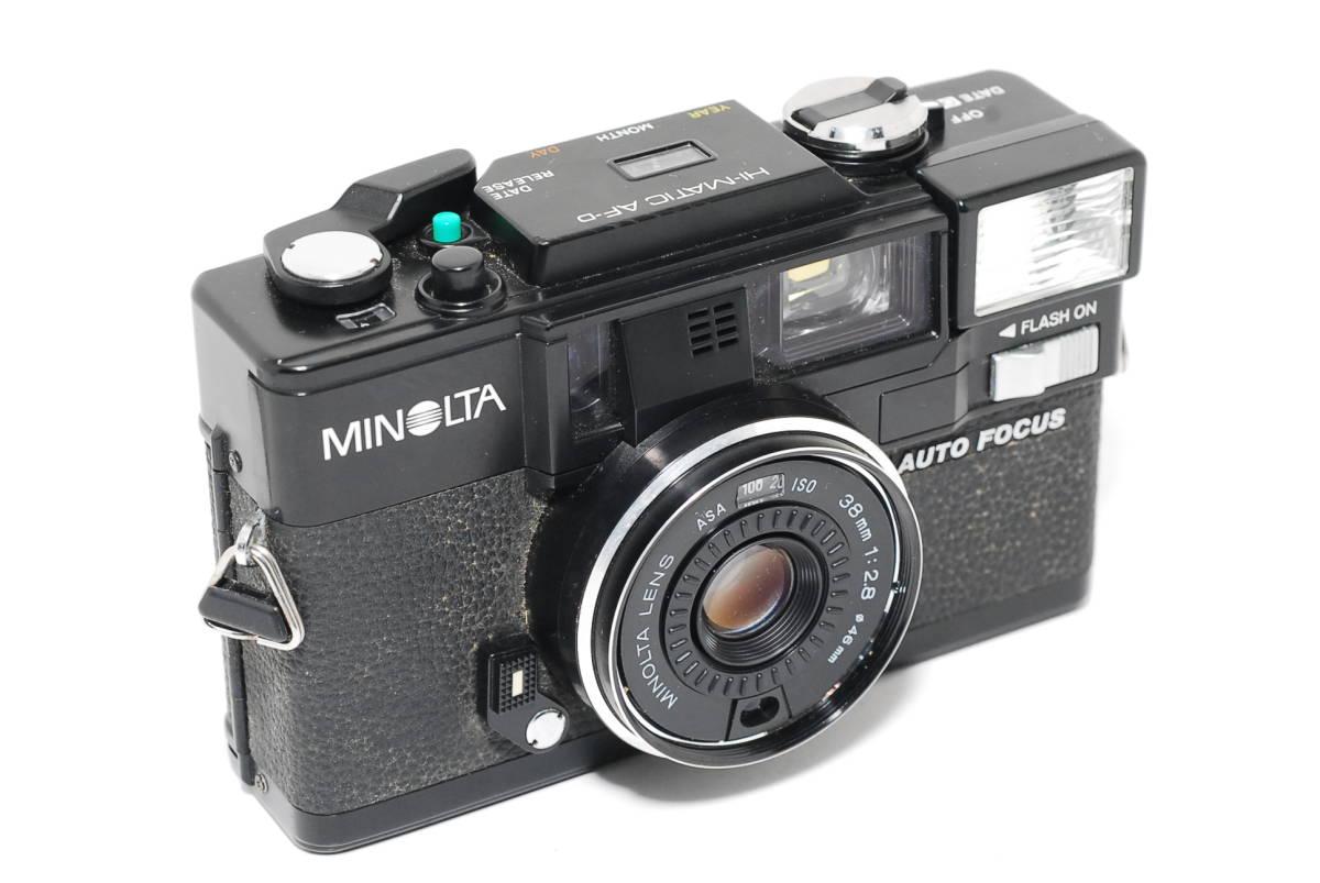 MINOLTA HI-MATIC AF-D ミノルタ_画像6