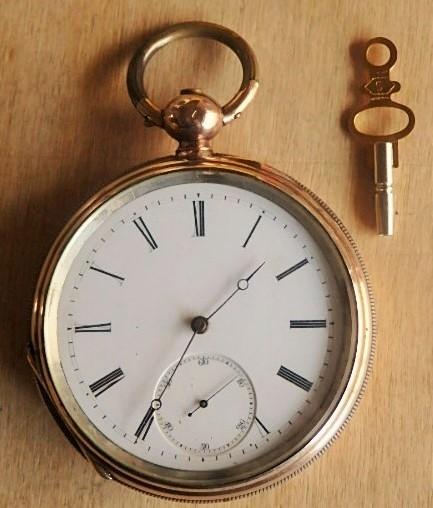 鍵巻き懐中時計 鍵付きです コンデション良いです_画像9