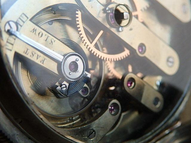 鍵巻き懐中時計 鍵付きです コンデション良いです