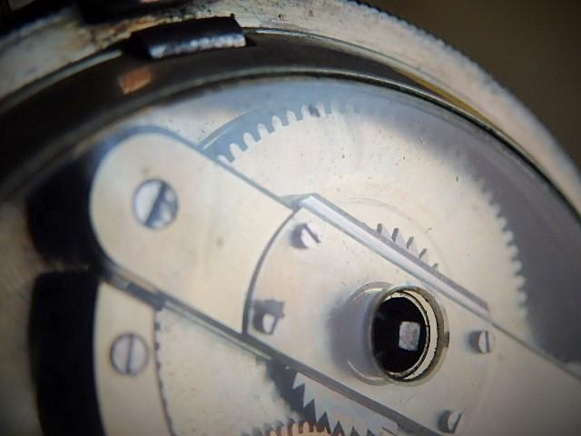 鍵巻き懐中時計 鍵付きです コンデション良いです_画像7