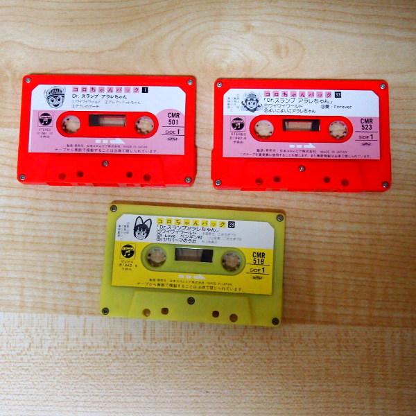 送料無料 即決 2222円 3本セット コロちゃんパック Dr.スランプ アラレちゃん NO. 1、28、33 カセットテープ_画像1