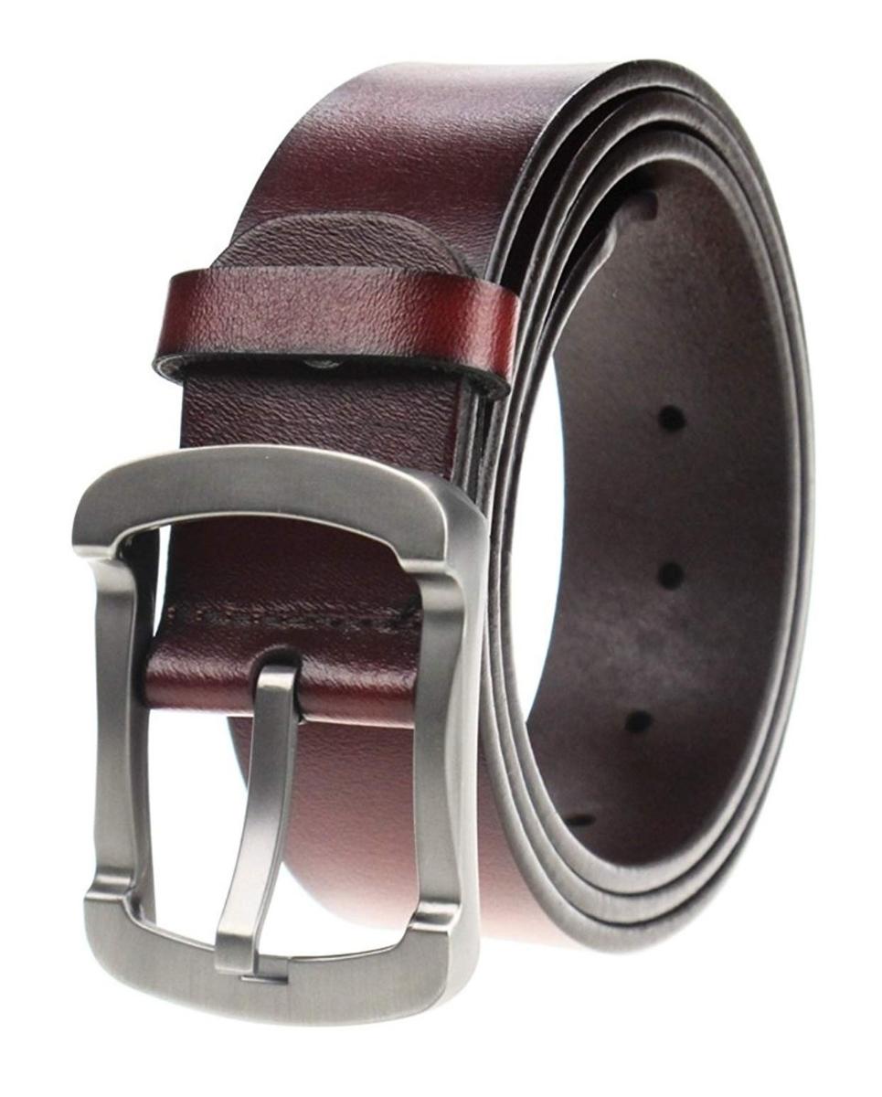 メンズ ビジネス カジュアル 大きいサイズ メンズベルト 紳士ベルト 革ベルト ビジネスベルト おしゃれ 本革 ブラウン ベルト