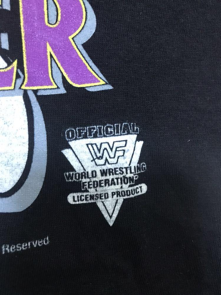 レア 90s THE UNDERTAKER アンダーテイカー WWF ビンテージ Tシャツ XL 1994 プロレス vintage / WWE WCW 新日本プロレス_画像4