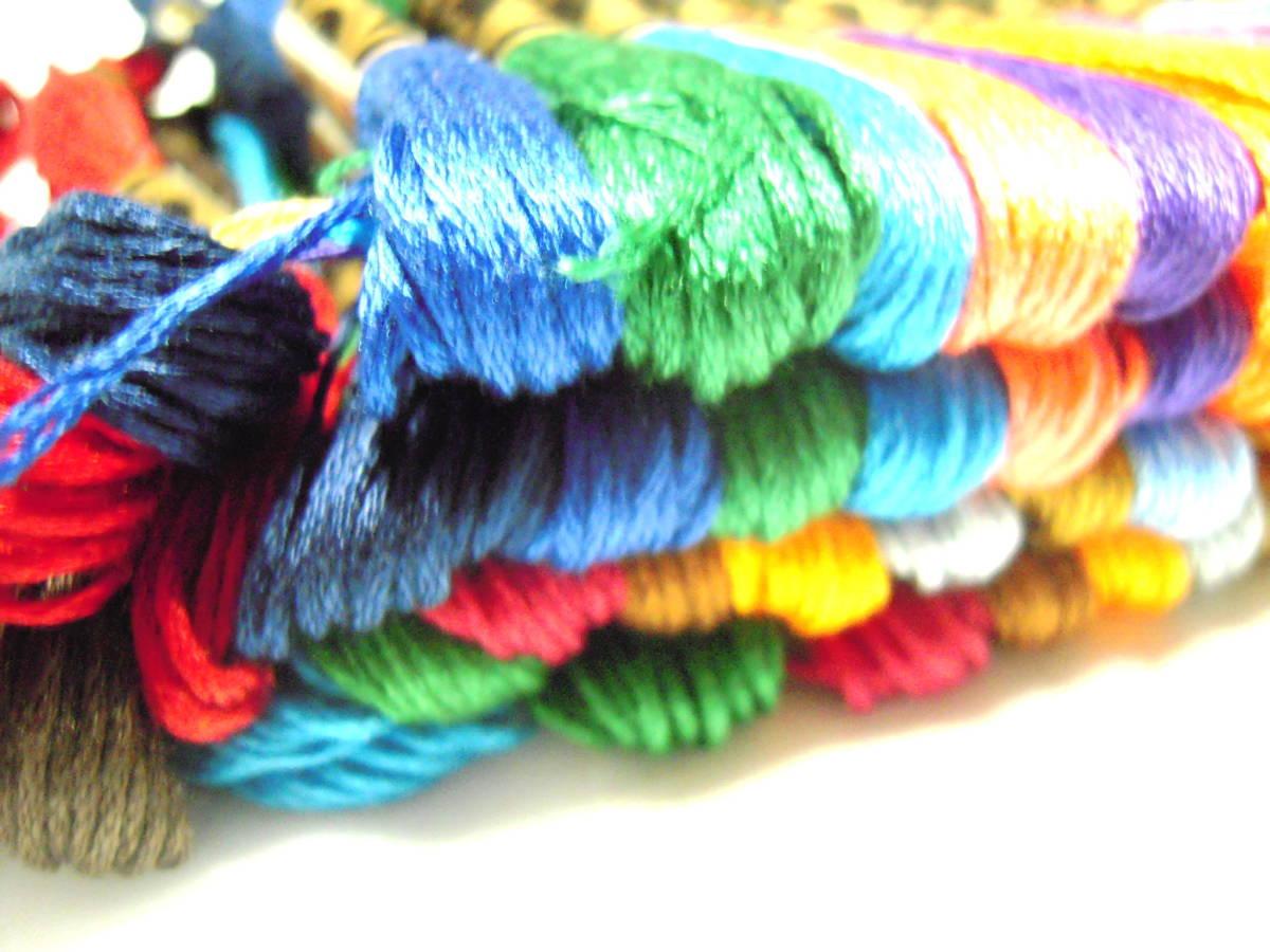 刺しゅう糸 100本 カラー が 色々 きれい! まとめ買いに!!_画像4