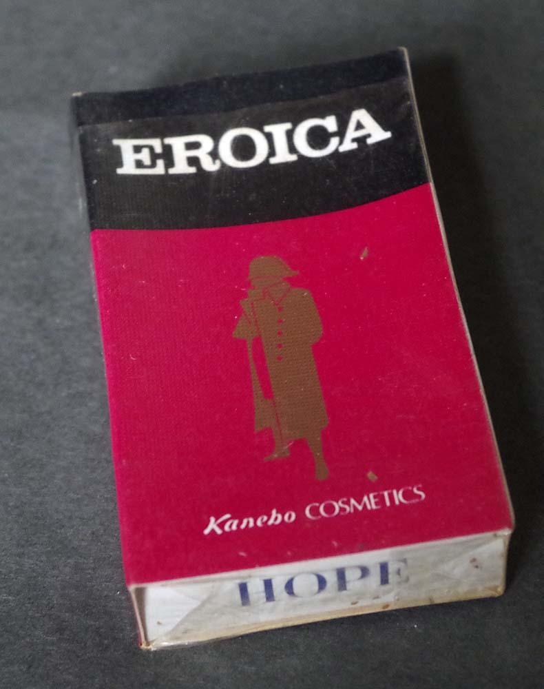 販促アドもの1970sホープ古いタバコのHOPE箱非売品KaneboEROICA贈呈煙草マニア必見!昭和レトロ若者がカッコイイ時代です。_画像1