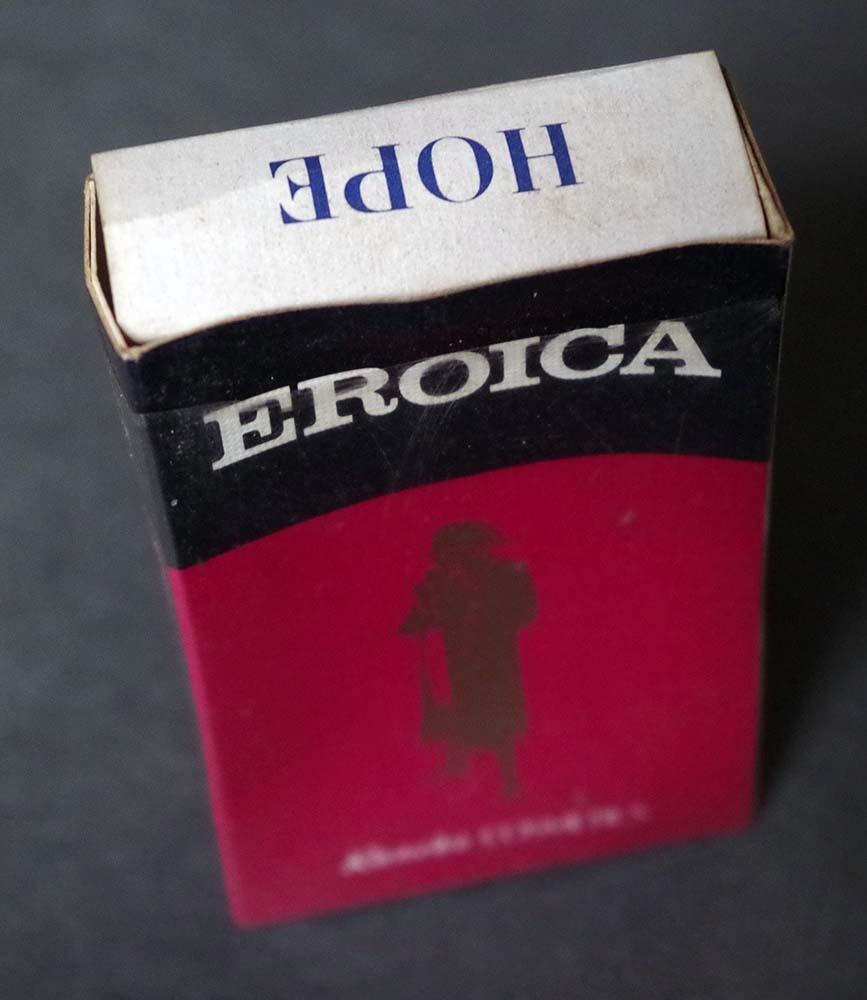 販促アドもの1970sホープ古いタバコのHOPE箱非売品KaneboEROICA贈呈煙草マニア必見!昭和レトロ若者がカッコイイ時代です。_画像3