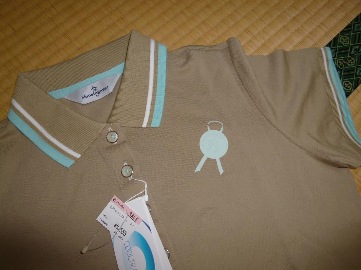 パーリーゲイツ■ポロシャツ & マンシングウェア 新品ポロシャツ 2枚セット レディース Mサイズ ゴルフウェア _画像5