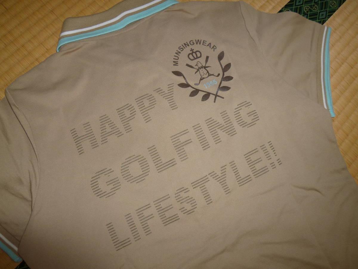 パーリーゲイツ■ポロシャツ & マンシングウェア 新品ポロシャツ 2枚セット レディース Mサイズ ゴルフウェア _画像7